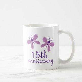 Mug 15ème Anniversaire de mariage