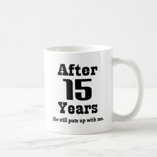 Mug 15ème Anniversaire (drôle)