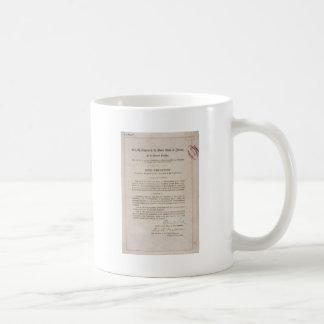 Mug 18ème amendement d'interdiction