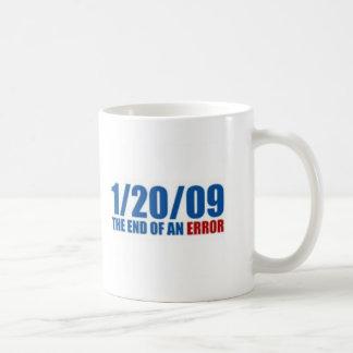 Mug 1/20/09 de la fin d'une erreur