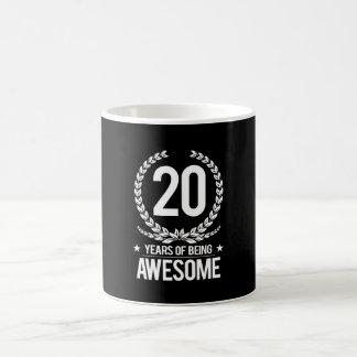 Mug 20ème Anniversaire (20 ans d'être impressionnants)