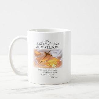 Mug 20ème Anniversaire de classification, bougie