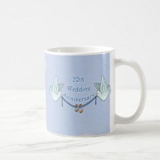 Mug 20ème Anniversaire de mariage