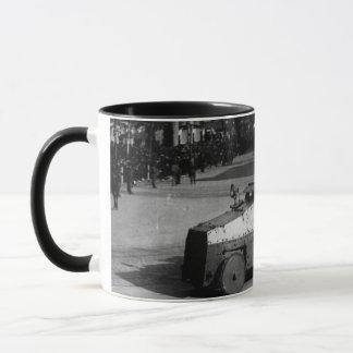 Mug 27 mars 1917 :  L'escadron de véhicule blindé