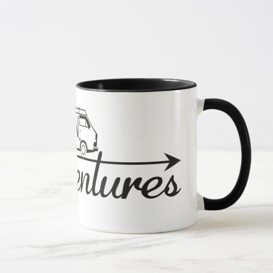 Mug 2 colors Van Adventures