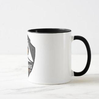 Mug 2 couleurs Blanc/Noir avec logo