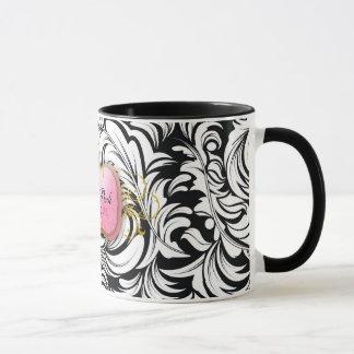 Mug 311-The prodiguent le noir rose du plat |