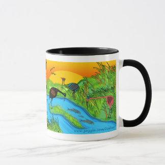 Mug 3 grues à Bosque del Apache