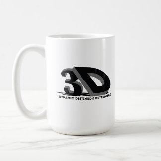 Mug 3D - Destiné et déterminé dynamiques