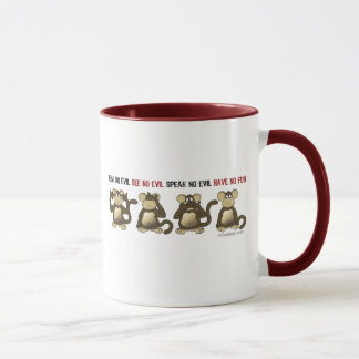 Mug 4 singes sages