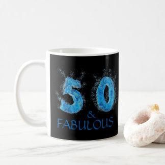 Mug 50 et anniversaire de natation fabuleuse de nageur