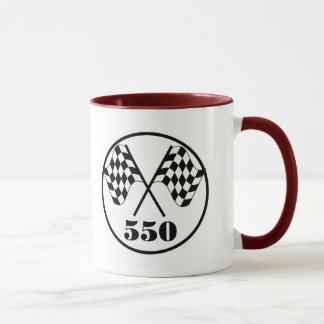 Mug 550 drapeaux Checkered