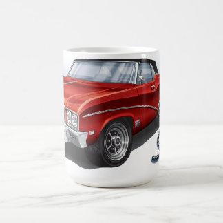Mug 68 GS de Buick en rouge d'écarlate