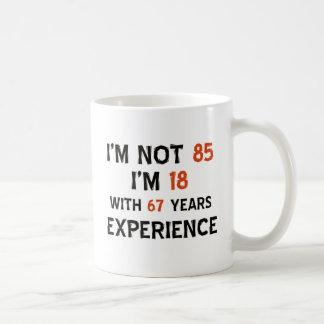 Mug 85th conceptions d'anniversaire