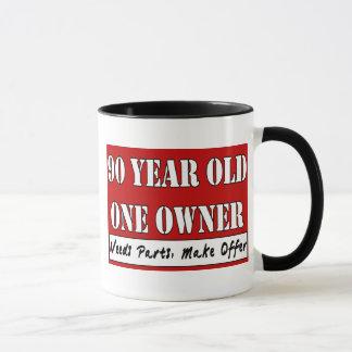 Mug 90 ans, un propriétaire - les pièces des besoins,