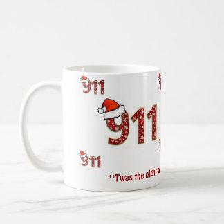 Mug 911 Twas la nuit avant Noël
