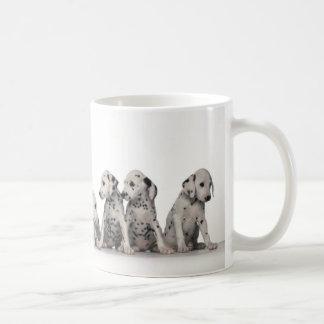 Mug 9 chiots dalmatiens adorables
