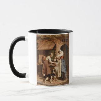 Mug À la laiterie, 1866 (huile sur le panneau)