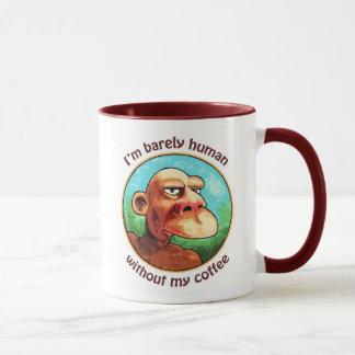 Mug À peine humain sans café