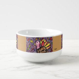 Mug À Soupe art deux de dinde