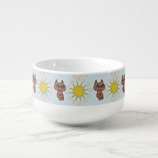Mug À Soupe Chat de Sun Kitty