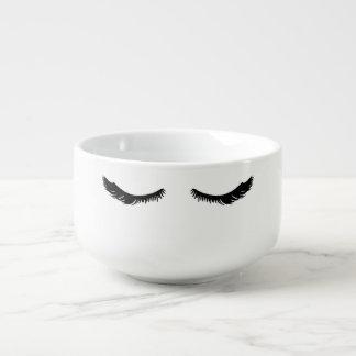 Mug À Soupe Cils assez noirs