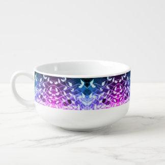 Mug À Soupe Cuvette avec la copie de feuille