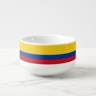 Mug À Soupe Drapeau de la Colombie