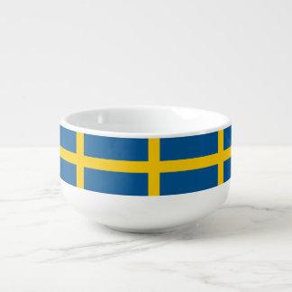 Mug À Soupe Drapeau de la Suède