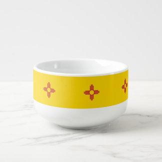 Mug À Soupe Drapeau du Nouveau Mexique
