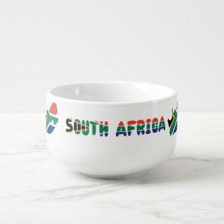 Mug À Soupe Drapeau sud-africain