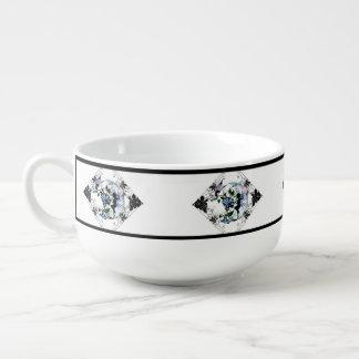 Mug À Soupe Fée d'ombre de gloire de matin et chat cosmique