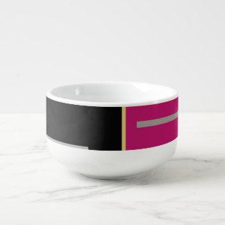 Mug À Soupe Géométrique
