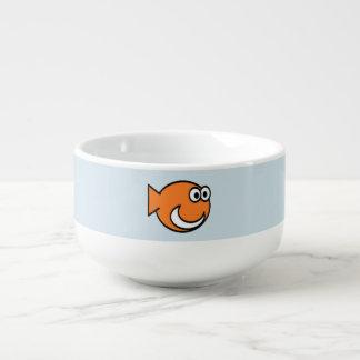 Mug À Soupe Le poisson s'effondant conçoit le ™