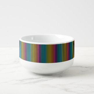 Mug À Soupe Lueur au néon fluorescente dans le design6 coloré