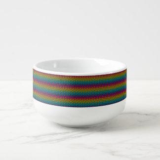 Mug À Soupe Lueur au néon fluorescente dans le design8 coloré