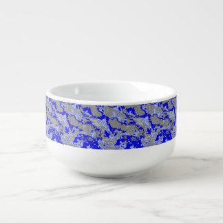 Mug À Soupe Mélange abstrait unique 2B de motif