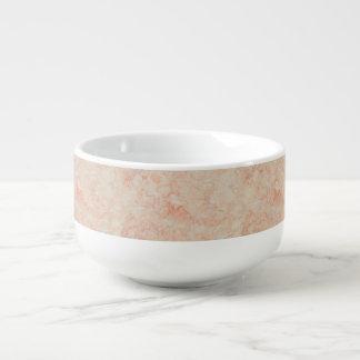 Mug À Soupe Texture de marbre abstraite dans la couleur en