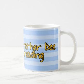 Mug abeille de travailleur - bibliothécaire
