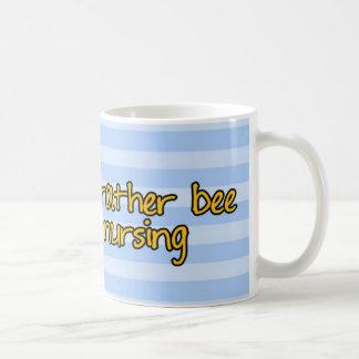 Mug abeille de travailleur - infirmière