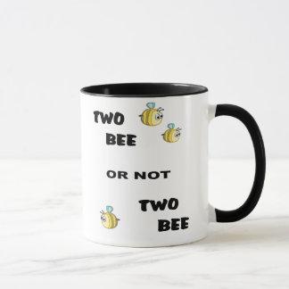 Mug Abeille deux abeille ou non deux
