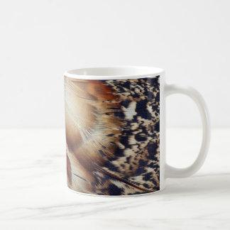 Mug Abrégé sur plume de Brown Tragopan