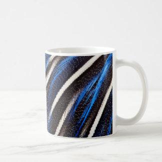Mug Abrégé sur plume de Guineafowl