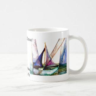 Mug Abrégé sur voilier - art d'océan de CricketDiane