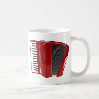 Mug Accordéon rouge