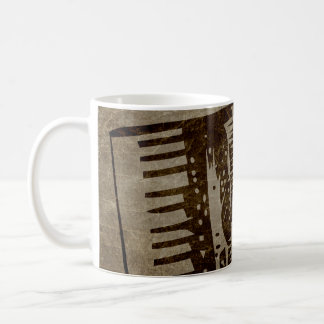 Mug accordéon vintage