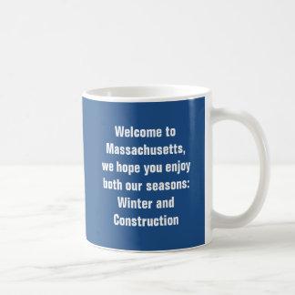 Mug Accueil vers le Massachusetts, nous espérons que