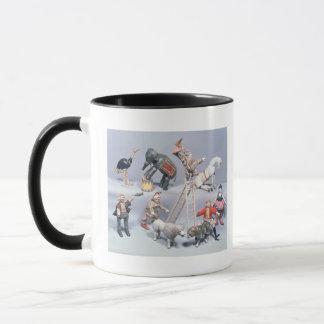 Mug Acrobates de cirque de Humpty Dumpty et ménagerie