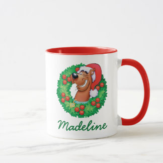 Mug Additionnez votre | nommé Scooby en guirlande