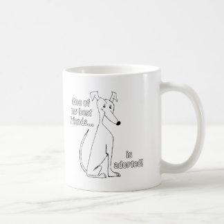 Mug Adopted~White